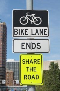 bigstock-Bike-Lane-Sign-33096314