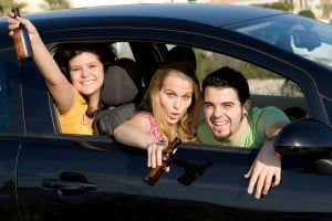 underage drinking and driving