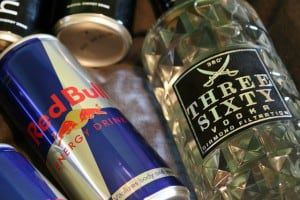 DUI danger - energy drinks and alcohol