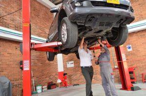Ignition interlock exemption for auto mechanics