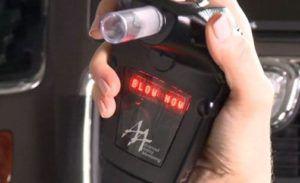 How does a car breathalyzer work?
