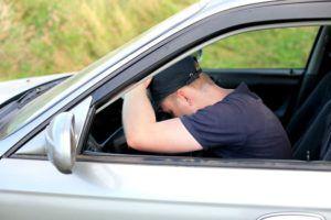drowsy DUI driver